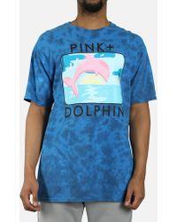 Pink Dolphin - Bound Portrait Tie-dye Tee - Lyst