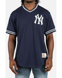 730bb5d18ca8c Lyst - Majestic Filatures Longline Long Sleeve Yankees T-shirt in ...