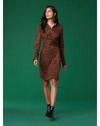 Diane von Furstenberg - Didi Silk Jersey Wrap Dress - Lyst