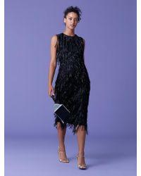 Diane von Furstenberg - Nadi Fringe Dress - Lyst
