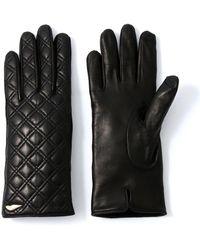 Diane von Furstenberg - Caning Quilt Leather Glove - Lyst