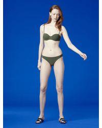 Diane von Furstenberg - Constructed Bandeau Top - Lyst