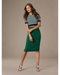 Diane von Furstenberg - Jumper Pencil Skirt - Lyst