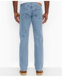 Levi's 501 Original Fit Stone Wash Jeans - Lyst
