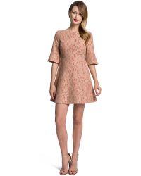 Cynthia Steffe Saira Lace A Line Dress - Lyst