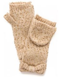 Kate Spade Cosmic Sequined Mittens  - Lyst