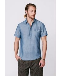 Faherty Brand Ss Surf Pullover - Lyst