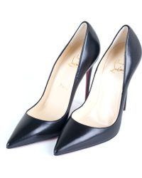 Christian Louboutin Leather-Pumps - Lyst