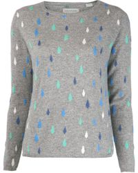 Chinti And Parker Diamond Knit Sweater - Lyst