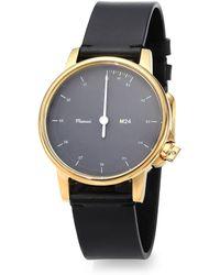 Miansai M24 Leather Strap Watch - Lyst
