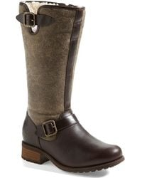 Ugg 'Chancery' Boot brown - Lyst
