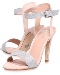 Lipsy Claudia High Heel Sandals - Lyst