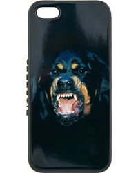 Givenchy Black Rottweiler Iphone 5 Case - Lyst