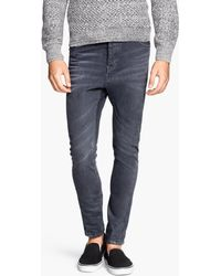 H&M Jeans Tapered Fit - Lyst