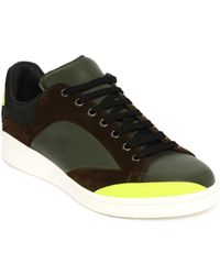 Alexander McQueen Low Lace Up Abstract Sneaker yellow - Lyst