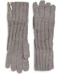 Ivanka Trump - Engineered Zip Gloves - Lyst