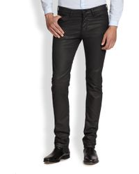 The Kooples Coated Straight-Leg Jeans - Lyst
