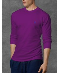 Polo Ralph Lauren Waffle Knit Crew Neck Thermal - Lyst