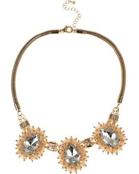 Coast Cady Cluster Necklace - Lyst