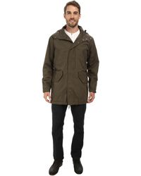 Cole Haan Washed Cotton Military Anorak - Lyst