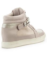 Lipsy Amy High Top Trainers - Lyst