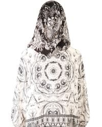 Camilla Short Hooded Kaftan - Lyst