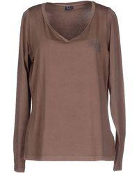 C'N'C Costume National T-Shirt khaki - Lyst