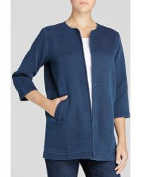 Eileen Fisher - The Fisher Project Textured Cotton Jacket - Lyst