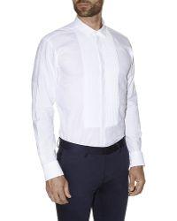 Etro Quilted Bib Shirt - Lyst