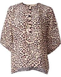 Givenchy | Leopard Print Blouse | Lyst