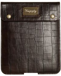 Temperley London - Glossy Crocodile Leather Ipad Case - Lyst