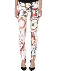 Etoile Isabel Marant Relly Skinny Stretch-denim Jeans - Lyst