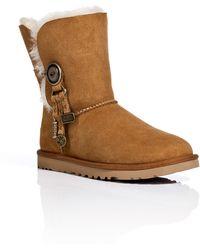 Ugg Suede Azalea Short Boots - Lyst