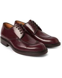 Heschung Rhus Split-Toe Derby Shoes - Lyst