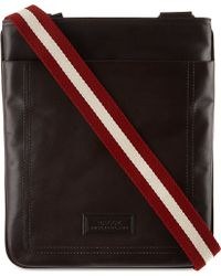 Bally Trainspotting Crossbody Bag Brown - Lyst