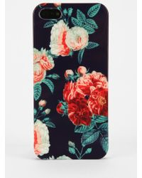 Urban Outfitters - Uo Navy Chintz Iphone 55s Case - Lyst