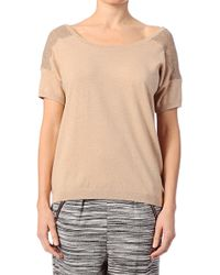 Marie Sixtine Short Sleeve Top - 346Lpknit Laura - Lyst