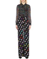 Diane von Furstenberg - Arabella Silk Jumpsuit - Lyst