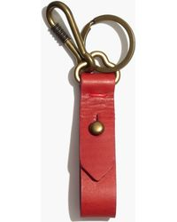 Madewell Front Door Key Fob In Etruscan Clay - Lyst