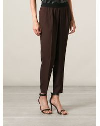 Forte Forte Tapered Trousers - Lyst