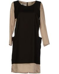 Mm6 By Maison Martin Margiela Short Dress - Lyst