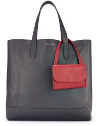 Ralph Lauren Small Easy Tote - Lyst