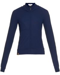 Monreal London - Hooded Performance Sweatshirt - Lyst