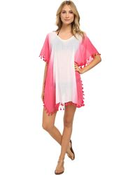 Seafolly Splendour Kaftan Cover Up - Lyst
