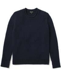 Whistles Engineered Sweater - Lyst