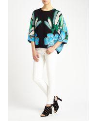 Marni Pivoine Print Medium Sleeve Shirt floral - Lyst