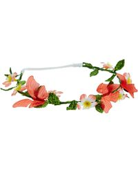 Asos Flower  Butterfly Hair Garland - Lyst