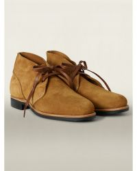 Ralph Lauren Brown Powell Boot - Lyst