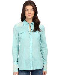 Stetson - Solid Lawn Long Sleeve Western Shirt - Lyst