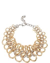 Coast Mixed Plate Bracelet - Lyst